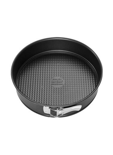 Zenker Zenker 6504 Black ic Düz nlı KelepÇeli Yapışmaz Kek Kalıbı 28 cm Renkli